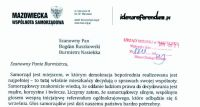 Apel referendalny u Burmistrza Nasielska